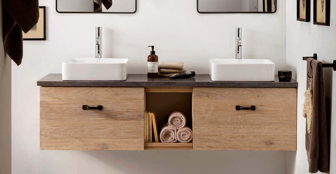 stoere badkamer van Van Heck badkamers