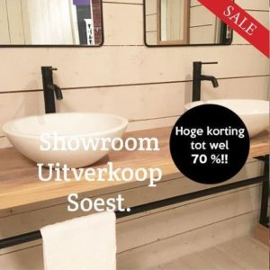 Showroom uitverkoop in Soest
