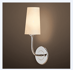 Wandlamp Long Island chroom