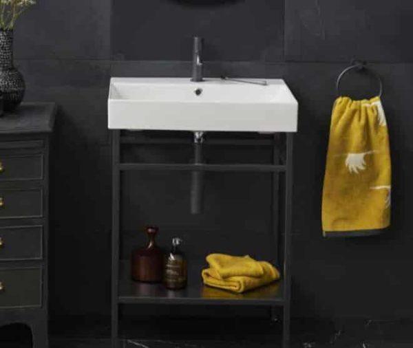 Industrial Onderstel met wastafel 70 cm