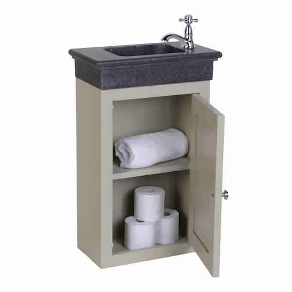 Traditional toiletmeubel hangend Taupe
