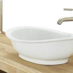 Houten Badkamermeubel 160 met waskom