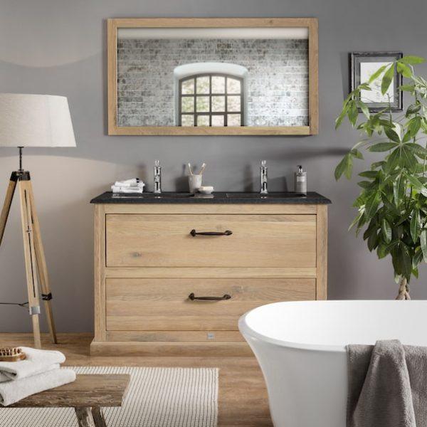 Eiken badkamer van Van Heck Badkamers