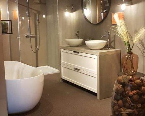 badkamermeubel wit in wommelgem
