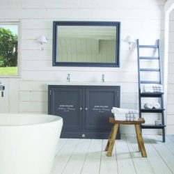 Landelijke badkamer Long Island